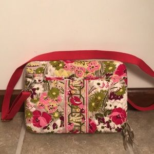 NWOT Vera Bradley Hard IPad Crossbody Case Bag